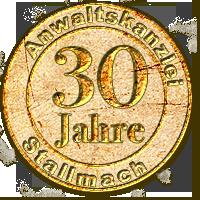 Rechtsanwalt Olaf Stallmach - 30 Jahre